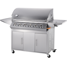 Outdoor Kitchen Stainless Steel 6 Burners Gas BBQ Grill With Infrared Burner