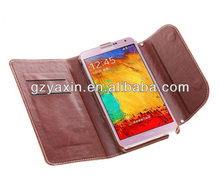Luxury bling bling case for samsung galaxy note 3,purse leather case for samsung galaxy note 3