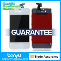 Factory supply original lcd screen display color replacement parts for iphone 4s
