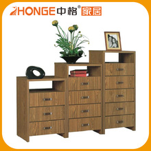 China Supplier Wholesale Wooden Cheap Chest of Drawers for Indonesian Market