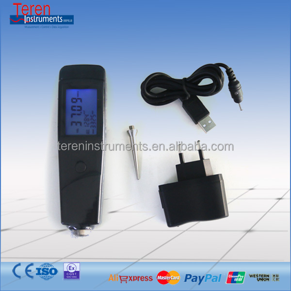 VM-213 Vibtation meter with piezoelectric transducer low cost vibration gauge