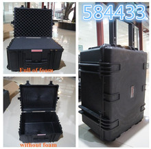 Large Hard Case Model 584433 Shipping Safety Case Plastic Rolling Tool Box