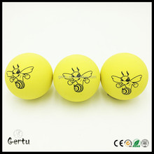 Promotional 60mm hollow super bounce rubber balls