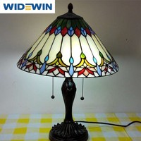 Tiffany Table Lamps Light Base Fixture Mediterranean Sea Style Bedroom Decor WW-YLM001