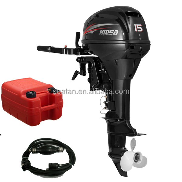 2 stroke 15hp Chinese outboard motor similar as yamahas outboard motor short shaft & long shaft