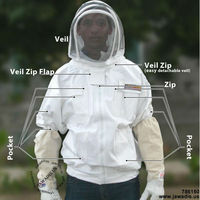 Cotton bee jacket with veil - Any Color - Any Size - 786150