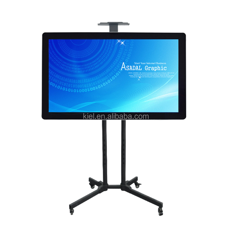 High quality 42 inch interactive pc tv FHD 1920*1080 interactive pc tv cpu i3 2G+320G with touch screen/mobile holder