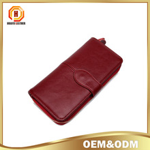 Fashion women Long wallet With Zipper Simple Women Multi-Card Holder Pure Colour lady purse women wallet