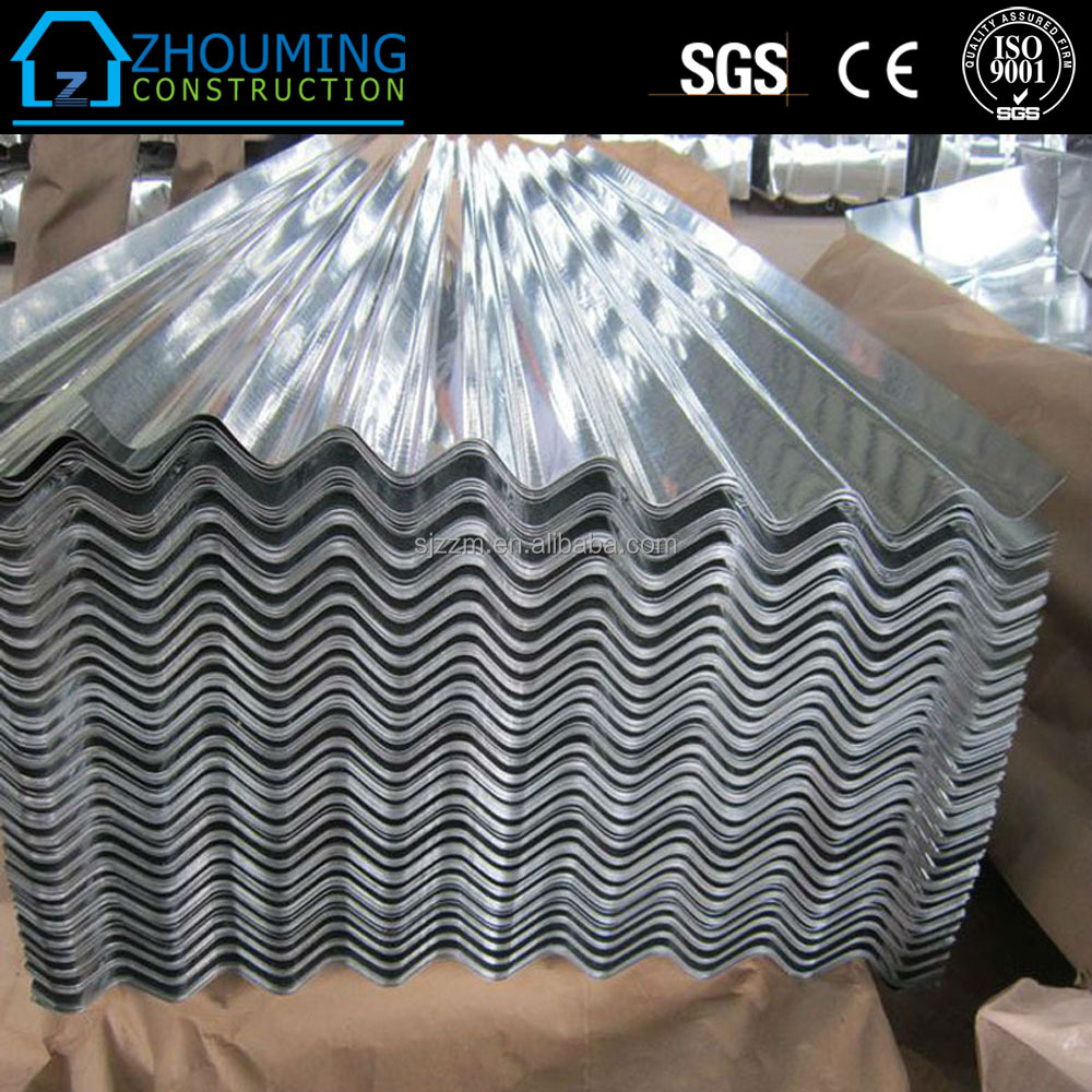 Building curved prime galvanized 1.2mm corrugated sheets with price