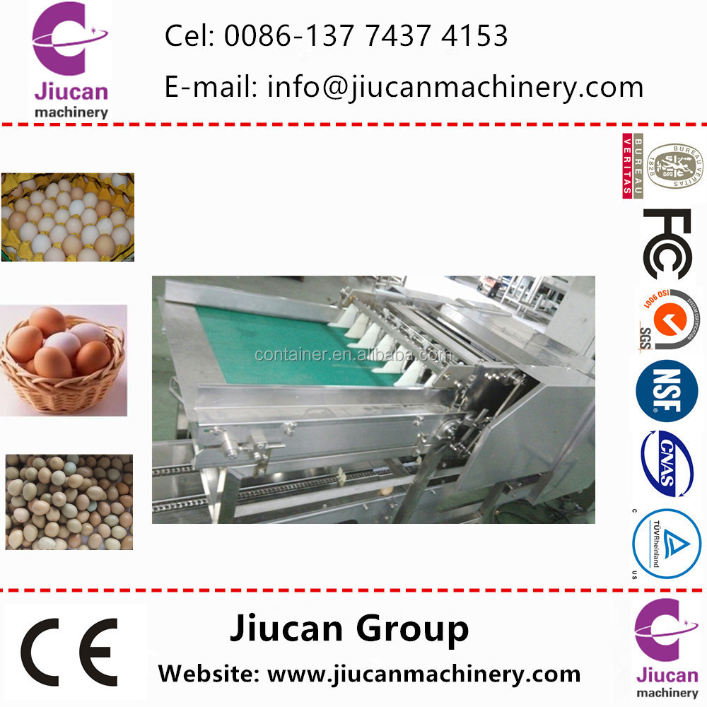 5 grade egg weight grading machine / egg sorting packingmachine with price