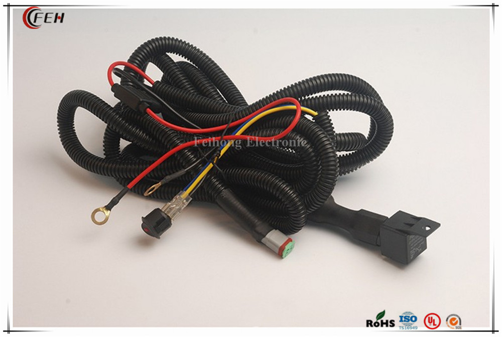 car foglight wiring harness for Toyota Volkswagen
