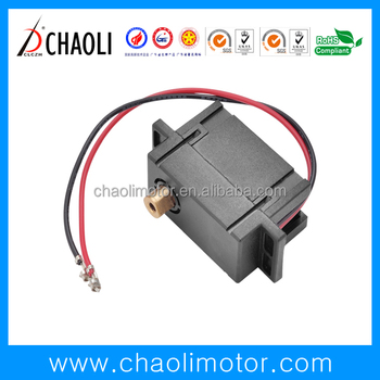 Plastic Door Lock Gear Motor CL-JS175-FFN20PH With Low Speed For ElectricLock