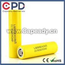 18650 battery LG HE4 2500mAh 35A high drain battery, LG HE4 18650 rechargeable vapor batteries
