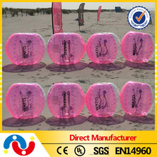 Popular inflatable fighting bumper ball for beach fun