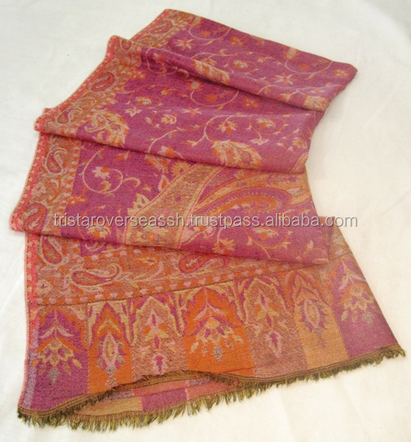 Natural cashmere scarves in india
