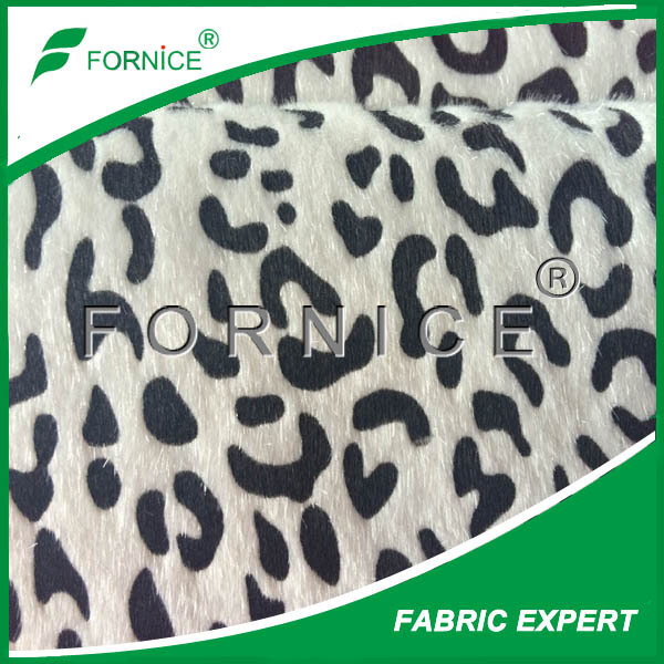 100%polyester synthetic horse fake fur fabric