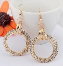 indian gold jhumka earring