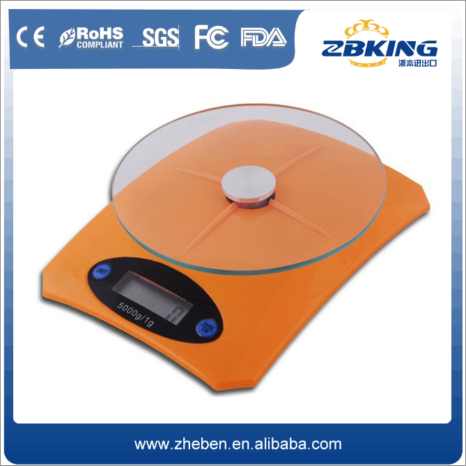 2016 best seller digital kitchen plastic electronic scale cover