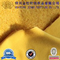 Shu velveteen and polar fleece suede fabric bonded with sherpa