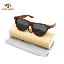 2018 New arrival fashion eyewear wood sunglasses for women