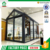 Cheap price of new design aluminum sunrooms glass houses