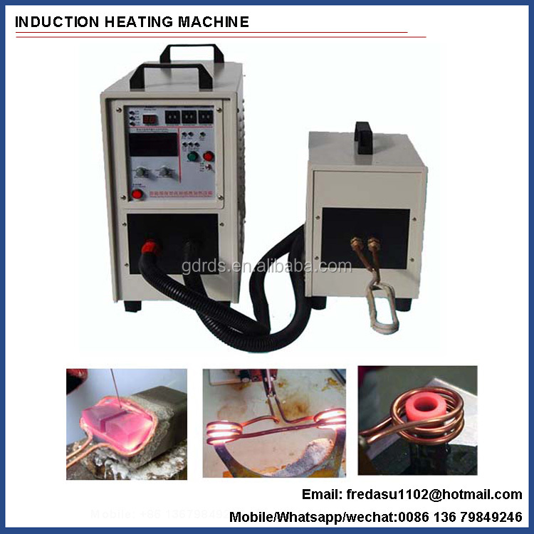 High frequency portable igbt induction heating brazing welding machine