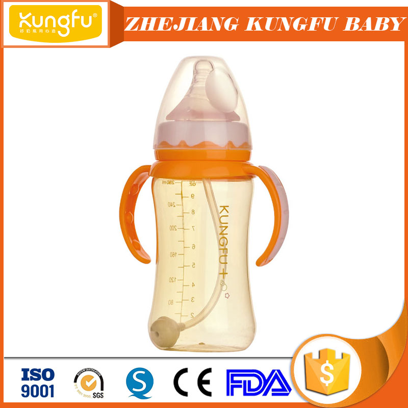 BPA not contained plastic feeding bottles China baby bottles Hot selling Yiwu commodities for babies products PPSU milk bottle