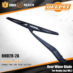 Advanced auto parts factory supply car accessory windshield rear wiper arm and blade fit for Honda Jazz Mk.2