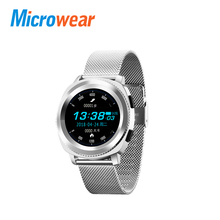 Microwear L2 <strong>smart</strong> <strong>watch</strong> IP68 waterproof Bluetooth calling, full round touch, Answer call, track steps, heart rate, sport