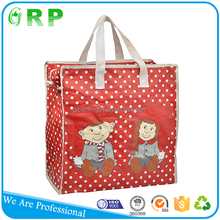 High quality eco foldable pp woven nylon shopping bag