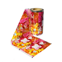 Custom Printed Laminating Aluminum Foil Food Packaging Film Roll For Candy