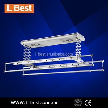 aluminum automatic clothing drying hanger