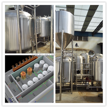 2000L brewery equipment kitchen Brewhouse/beer fermenter/Beer brewery system with cooling and control system