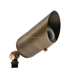 B311 brass garden light
