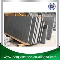 Chinese Factory Direct Sales Cheap Honed Polished Cut Edge Random Size Black Green Big Slate Slabs For Sale