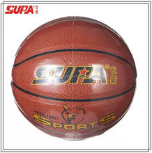 Official Size 7 real leather Indoor/Outdoor Basketball /custom professional match