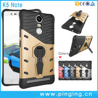 Hot Selling 360 Degree Rotation Holder Stand Shockproof Case For Lenovo K5 Note
