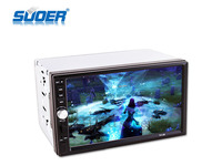 Two din touch screen car multimedia TV GPS player car adio DVD player