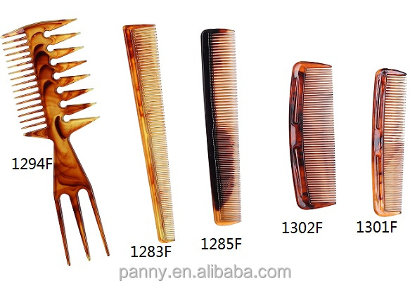 hot selling amber color barber hair comb salon comb