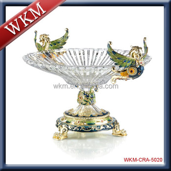 High Quality Crystal Fruit Bowl
