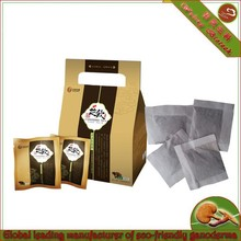 organic glossy ganoderma Green Tea blended teabag