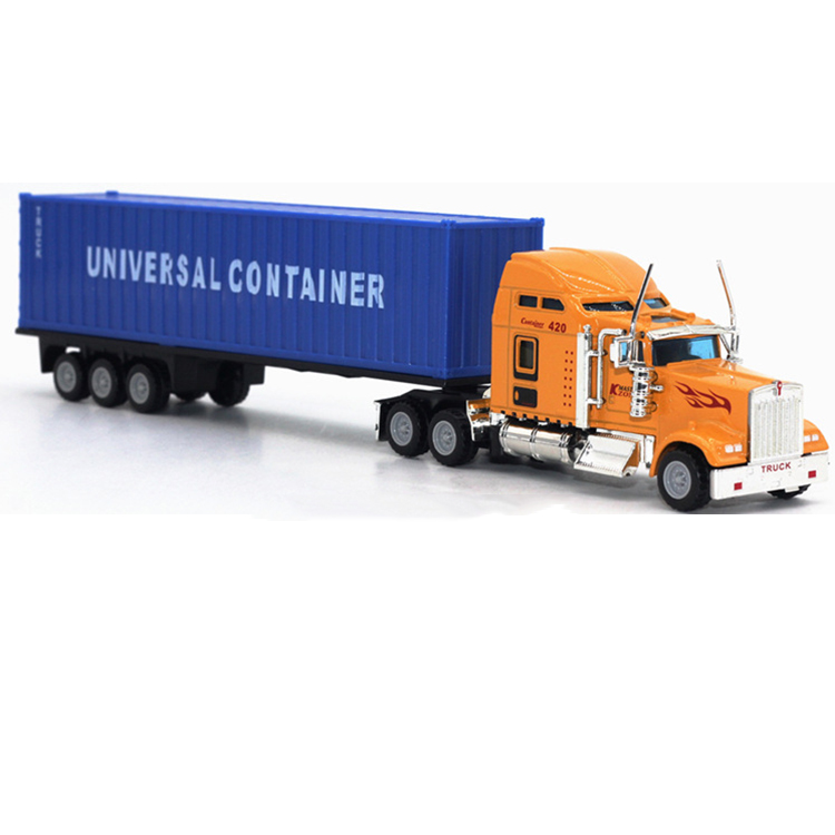 2017 New design 1 87 scale die cast truck assemble toy high quality