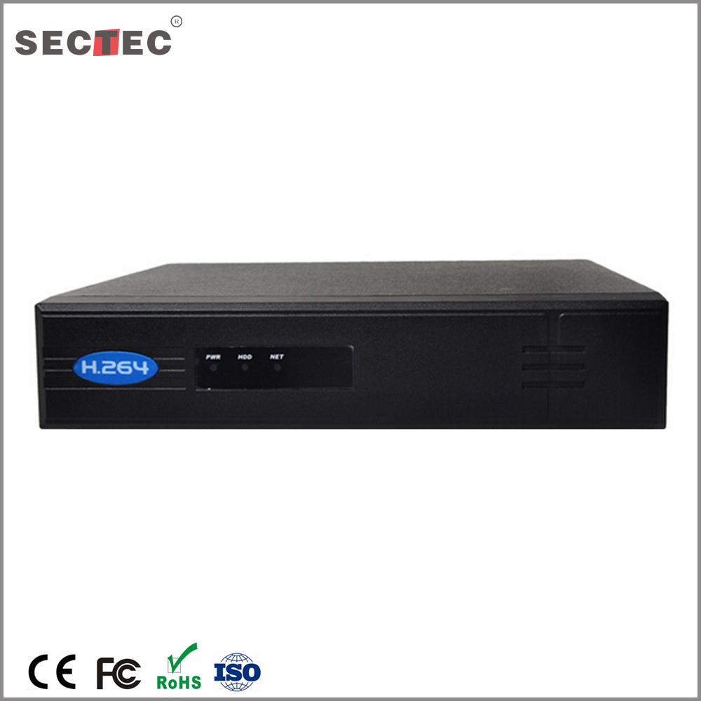 16ch cctv face detection camera NVR 16ch playback ,support 1 SATA HDD (MAX 6TB )