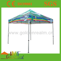 Customer full colour dye sublimation professional printing small party tent wholesale