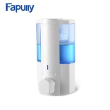 Fapully 350ml ABS plastic bathroom liquid hand soap dispenser for hotel bathroom