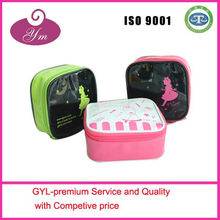 China professional factory price custom logo pvc cosmetic bag beautiful case gift box