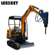 Chinese low price digging machine1.8ton small mini excavator