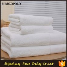 wholesale hand cotton bath towel suit for hotel to embroider