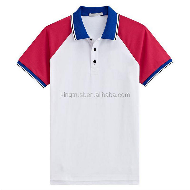 Polo T Shirt Manufacturer In China Bulk Wholesale Two Tone