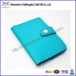 Leather Cover Bag Travel Ticket Wholesale Passport Cover